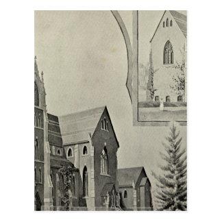 St Francis Church, Naugatuck Postcard