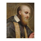St. Francis de Sales Wood Wall Art