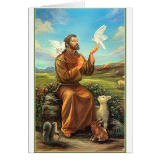 St. Francis Full-color Tee, Tie, Mug, Samsung Case Greeting Card