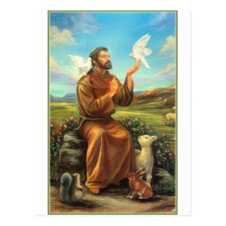 St. Francis Full-color Tee, Tie, Mug, Samsung Case Postcard