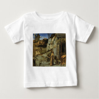 St Francis in the Desert Baby T-Shirt