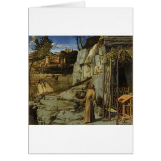 St Francis in the Desert Card