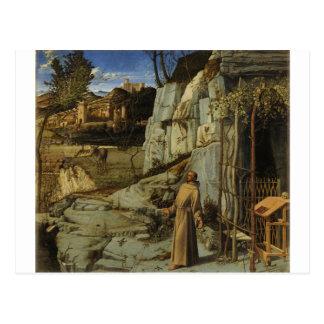 St Francis in the Desert Postcard