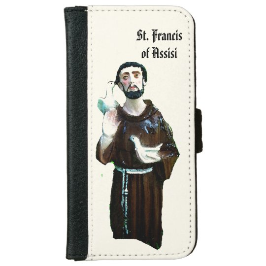 St. Francis iPhone 6 Wallet Case