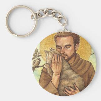 St Francis keychain
