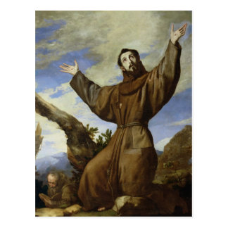 St. Francis of Assisi  1642 Post Cards