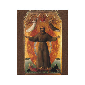 St Francis' of Assisi Canvas Print