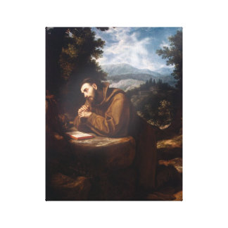 St Francis of Assisi Canvas Print