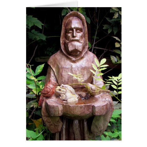 St. Francis of Assisi Greeting Card (Blank Inside)