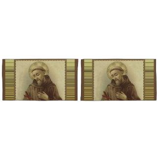 St. Francis of Assisi Patron Saint of Animals Pillowcase