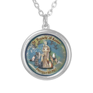 St. Francis of Assisi - Pet Necklace