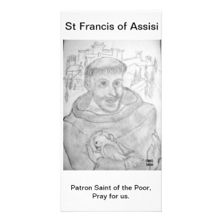 St Francis of Assisi Photo Greeting Card