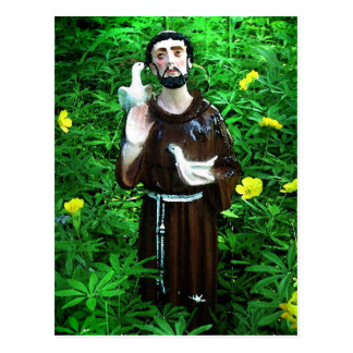 St .Francis of Assisi Postcard