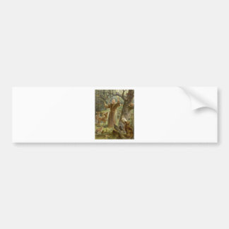 St. Francis of Assisi Preaching to the Animals Bumper Sticker