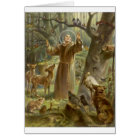 St. Francis of Assisi Preaching to the Animals Card