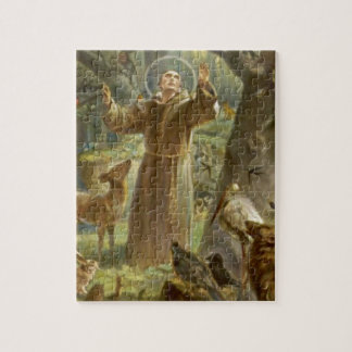 St. Francis of Assisi Preaching to the Animals Jigsaw Puzzle