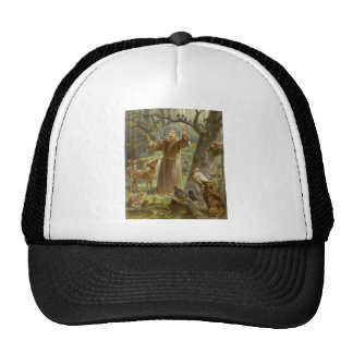 St. Francis of Assisi Preaching to the Animals Trucker Hat