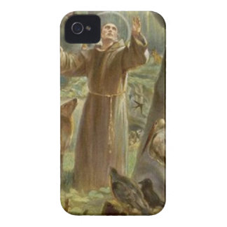 St. Francis of Assisi Surrounded by Animals iPhone 4 Case-Mate Cases