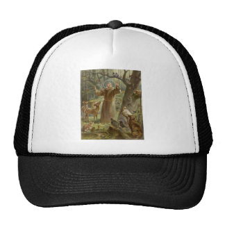 St. Francis of Assisi Surrounded by Animals Trucker Hat