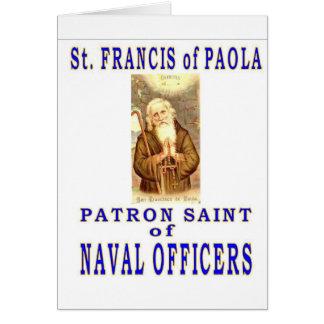 St FRANCIS of PAYOLA Greeting Card