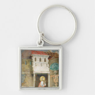 St. Francis Praying in the Church of San Key Chains