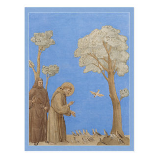 St. Francis preaching to the birds CC0582 Postcard