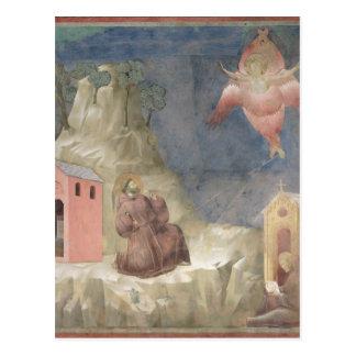 St. Francis Receiving the Stigmata, 1297-99 Postcard