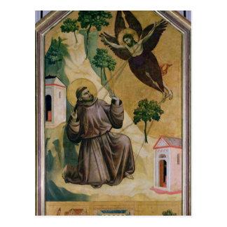 St. Francis Receiving the Stigmata, c.1295-1300 Postcard