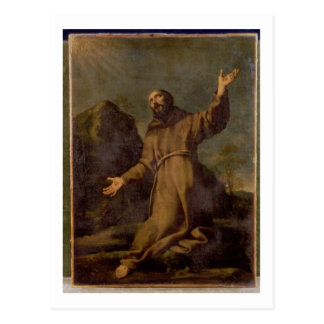 St. Francis Receiving the Stigmata Postcard