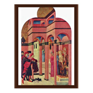 St. Francis Renounced His Earthly Father Postcard