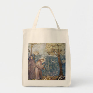St. Francis Sermon to the Birds Tote Bag