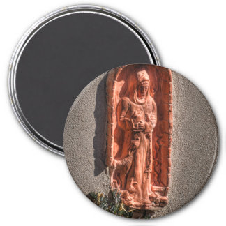 St. Francis Terra Cotta Magnet