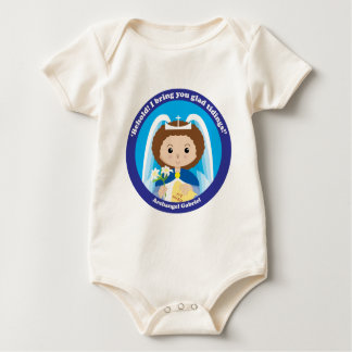 St. Gabriel the Archangel Baby Bodysuit