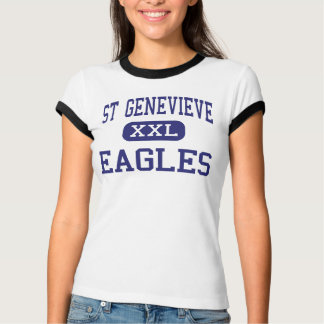 St Genevieve - Eagles - High - Panorama City T-Shirt