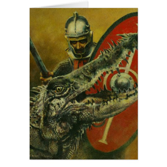 St George And The Dragon Greetings Card