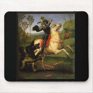 St. George and the Dragon Mouse Pad