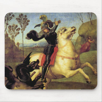 St George and the Dragon Mouse Pad