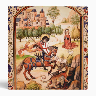 St. George and the Dragon Vinyl Binder
