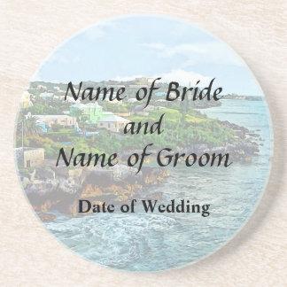 St. George Bermuda Shoreline Wedding Products Beverage Coasters