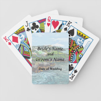 St. George Bermuda Shoreline Wedding Products Bicycle Playing Cards