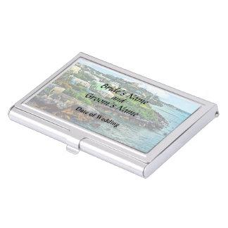 St. George Bermuda Shoreline Wedding Products Business Card Case