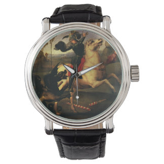 St. George Fighting the Dragon, Raphael, Raffaello Wrist Watch