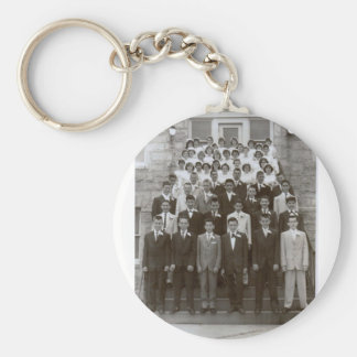 St. George grade school 1960 Basic Round Button Keychain