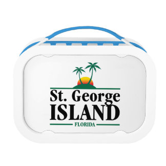 St George Island Florida Lunchboxes