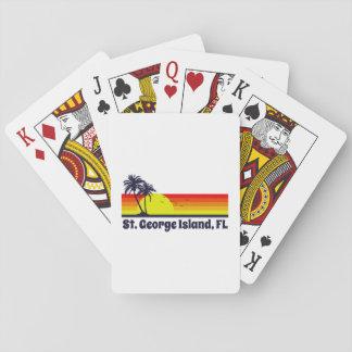 St. George Island Florida Poker Deck