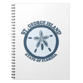 St George Island. Notebook