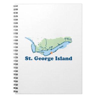 St George Island. Notebooks