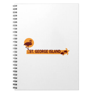 St George Island. Notebooks