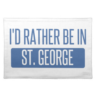 St. George Placemat