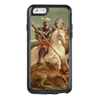 St. George slaying the dragon, (oil on panel) OtterBox iPhone 6/6s Case